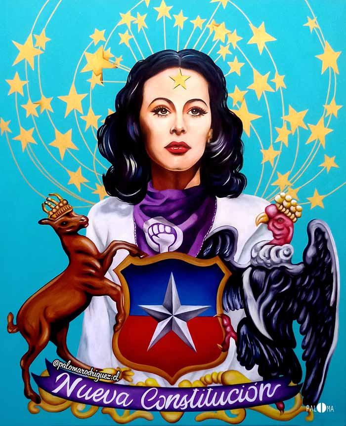 La poderosa iconografía feminista y social de la artista visual Paloma Rodriguez 3