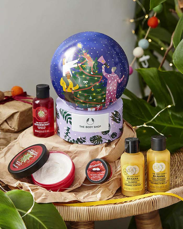 The Body Shop en Navidad sostenible 1