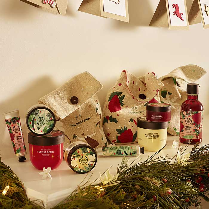 The Body Shop en Navidad sostenible 2