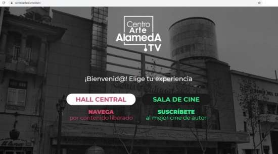 Centro Arte Alameda Tv: Paso 1