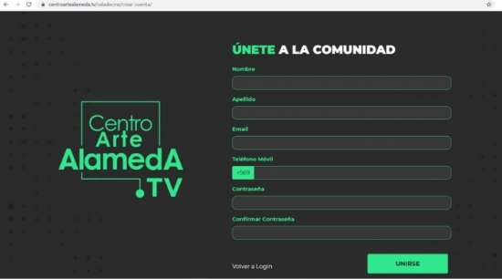 Centro Arte Alameda Tv: Paso 3