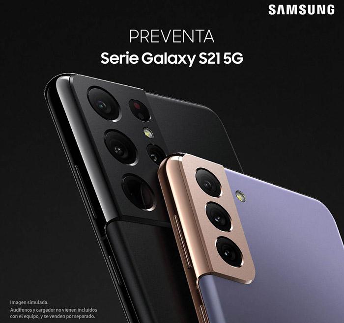 Live Shop: Preventa serie Galaxy S21 de Samsung 1
