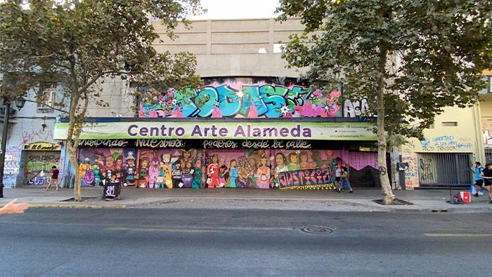 Nueva fachada del Centro Arte Alameda