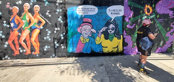 murales feministas