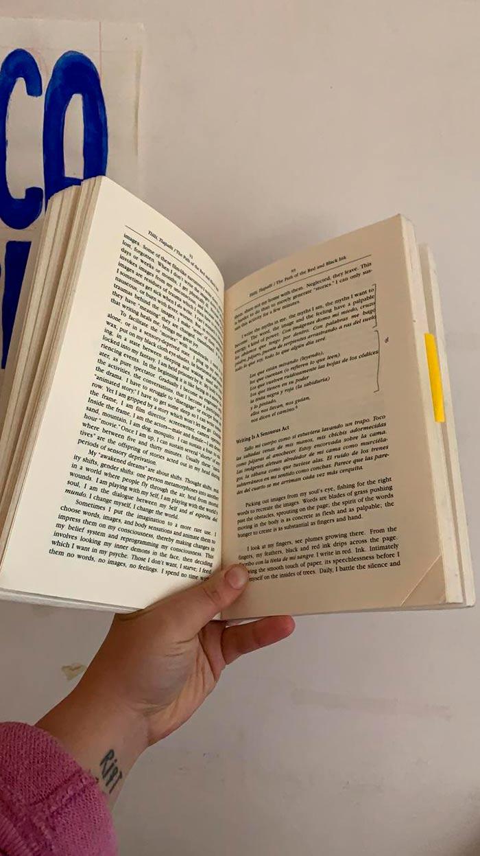 Libro de Gloria Anzaldúa