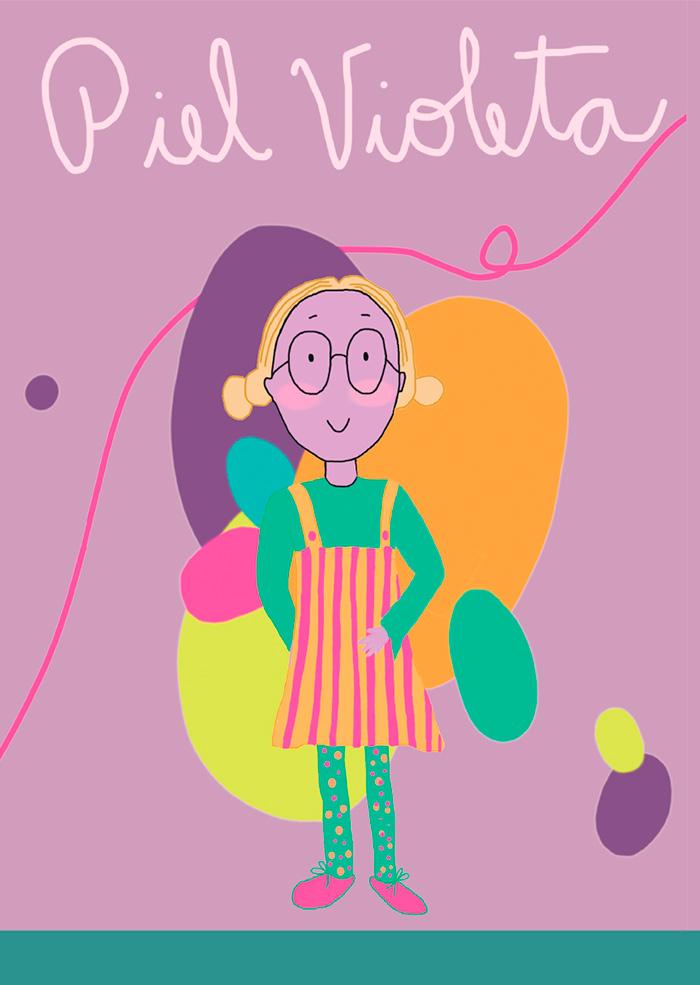 Libro Piel Violeta