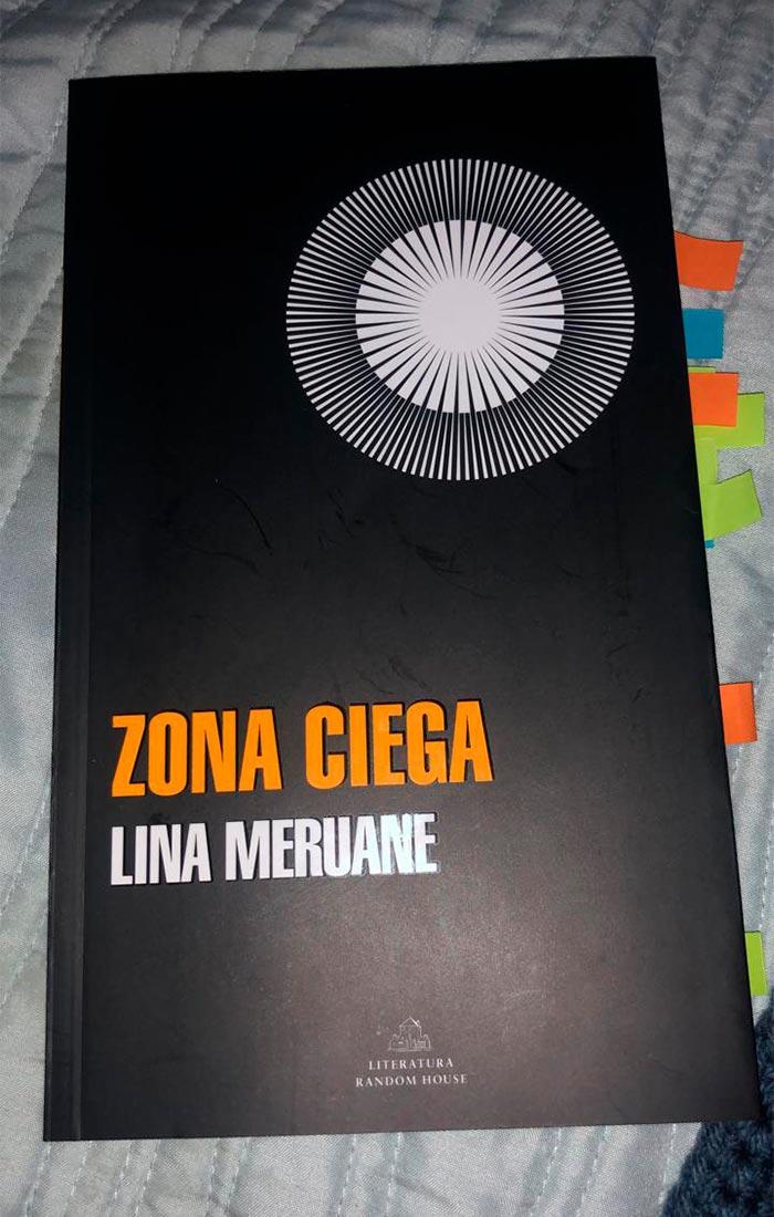 "Libro ""Zona ciega"""