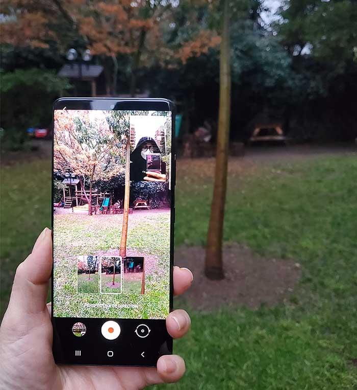 cámara del Galaxy S21