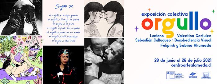 ORGULLO! Exposición Colectiva LGBTIQ+