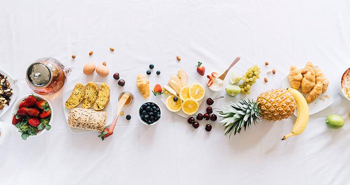 Mucha fruta y verdura