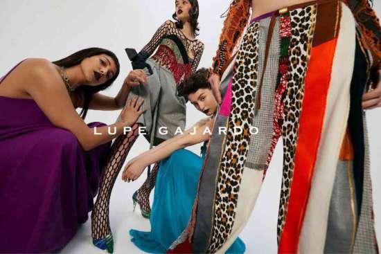 Lupe Gajardo en London Fashion Week 2021