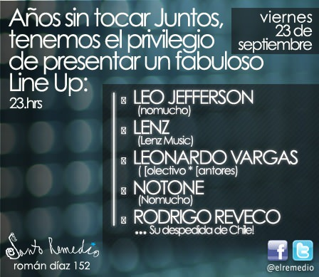 Santo Remedio presenta un fabuloso line up 1