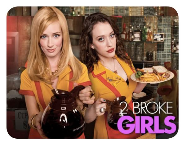 """2 Broke Girls"", la nueva serie de Kat Dennings 1"