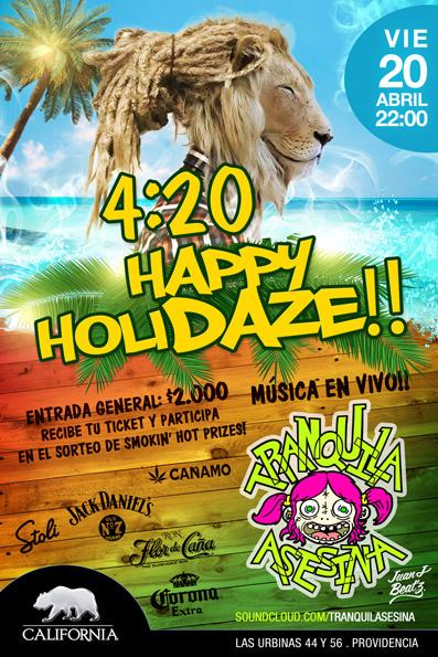 Fiesta: 4:20 Happy Holidaze en Grand California  3