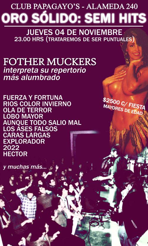 JUE/04/11 Fother Muckers en vivo 3