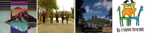 Cuatro bandas nacionales para ver, escuchar y descargar en Abril 3