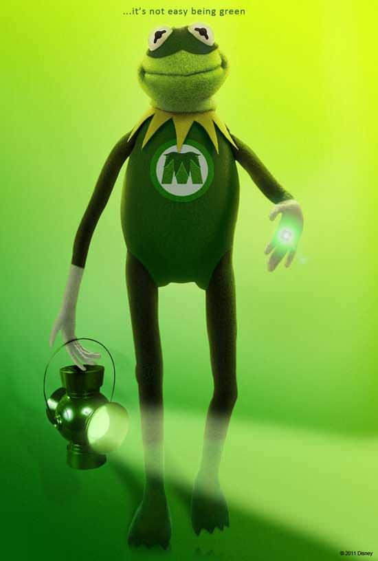 Muppets, Segel y Green Lantern 3