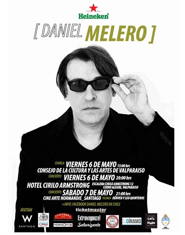 Daniel Melero en Santiago y Valparaíso 3