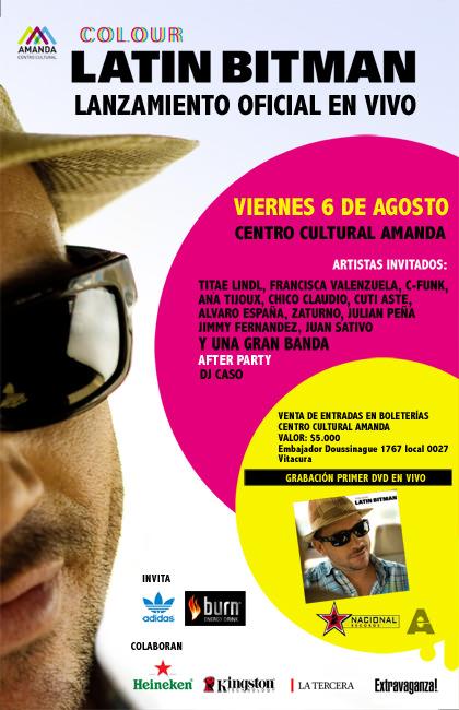 VIE/06/08 Latin Bitman lanza su disco 1