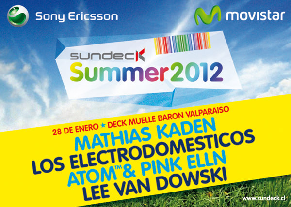 Sundeck Summer 2012 Valparaíso 1