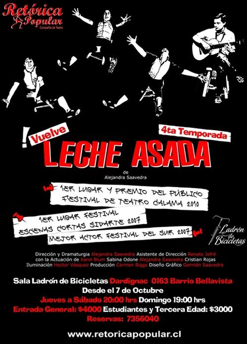 Teatro: Leche Asada 1