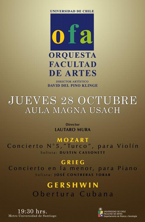JUE/28/10 Ciclo de conciertos, orquesta Facultad de Artes 1