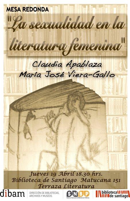 Mesa redonda: La sexualidad en la literatura femenina 1
