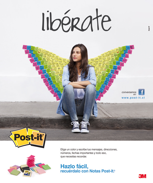"Concurso: ""Libérate con Post-it®"" 1"