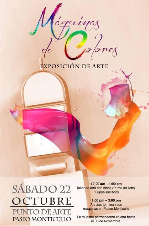 """Exposición """"Máquinas de Colores"""" 1"""