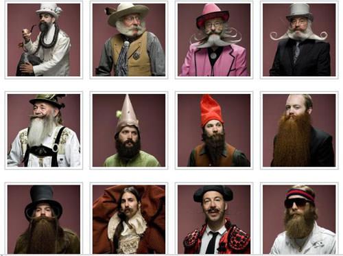 Hombres con Barbas  2