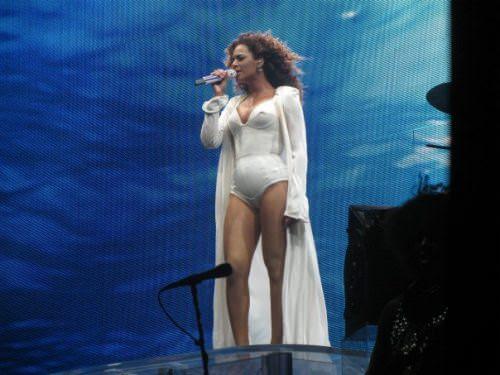 Yo toqué a Beyoncé 9