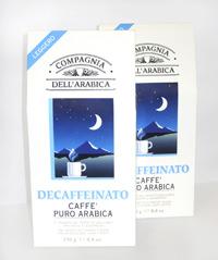 Decaffeinato, Caffe puro arabica en Coquinaria 3