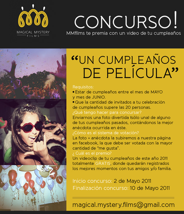 Concurso: Magical Mystery films 1