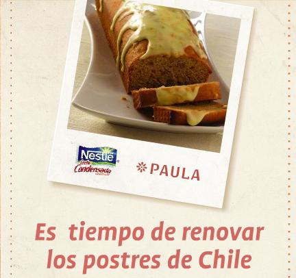 Concurso Recetas de Leche Condensada Nestlé y revista Paula 1