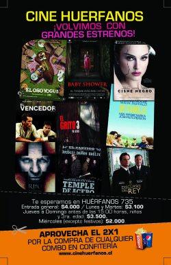 Reabre el Cine Huérfanos 1