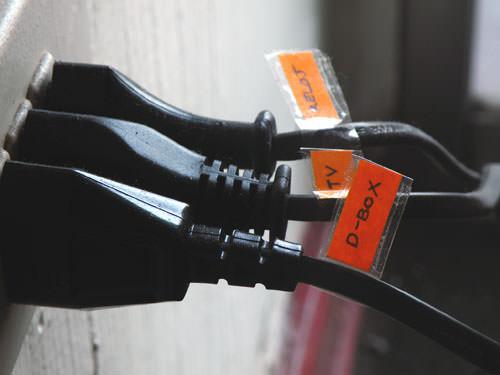CopyPaste: etiquetar los enchufes 3