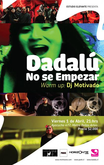 Dadalú en Estudio Elefante + Concurso 1