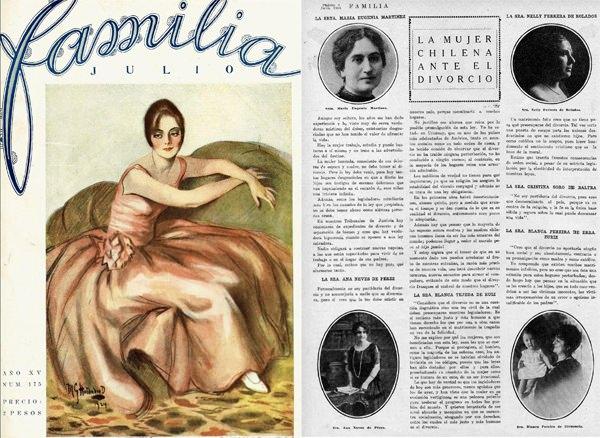 Lo que debatían las chilenas ante el divorcio en los años 20' 3