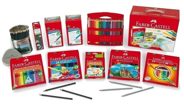 Útiles escolares Faber-Castell  1