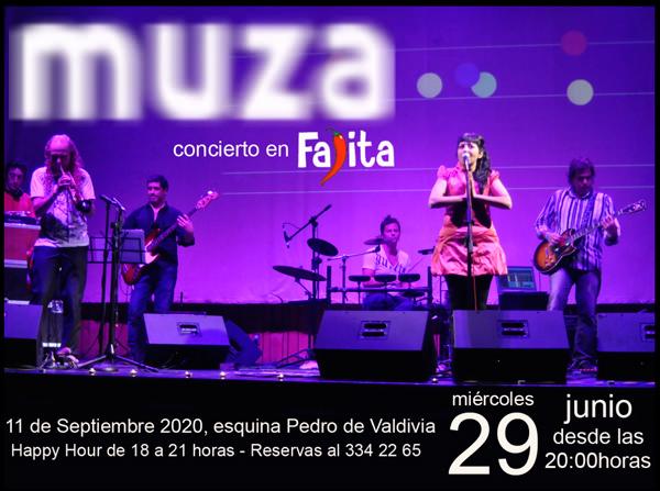 MIE/29/06 Concierto Muza en Fajita Express 1