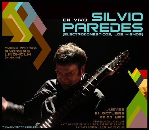 JUE/21/10 Silvio Paredes en vivo 3