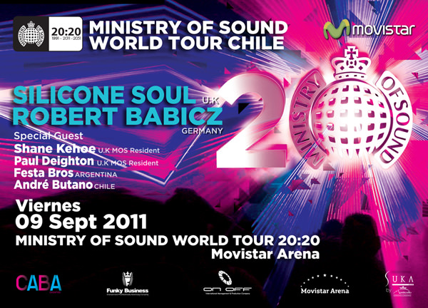 Ministry Of Sound World Tour 20:20 1