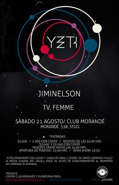 SAB/21/08 Yeti + Jiminelson + TV. Femme 3