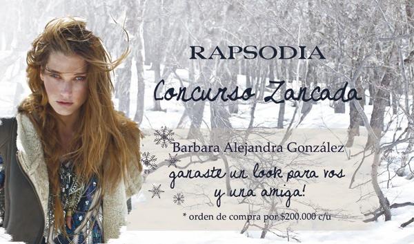 Resultado Concurso: Ganate un look Rapsodia para ti y una amiga! 3