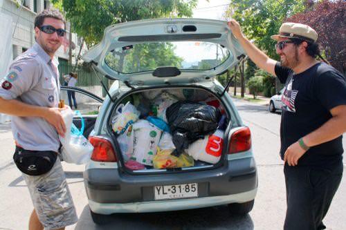 Terremoto en Chile: plata y otras donaciones 15