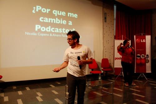 Conferencia Podcaster: comunidad, rentabilidad y amor al arte 8