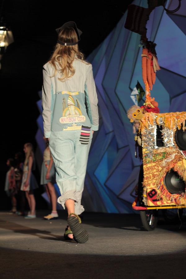 Cierre del Parque Arauco Be Fashion! 40