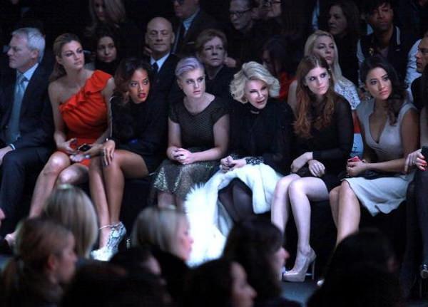 Recuento y backstage en la semana de la moda de Nueva York Otoño Invierno 2012 7