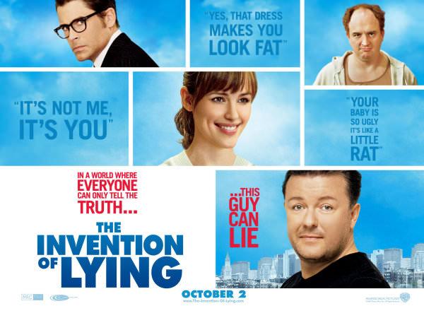 La Invención de la Mentira, una gran idea de película 1