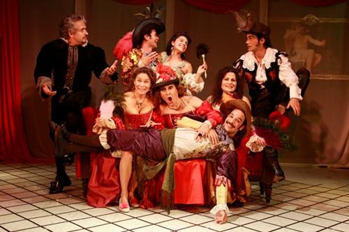 """Teatro: """"Las Preciosas Ridículas"""" 1"""